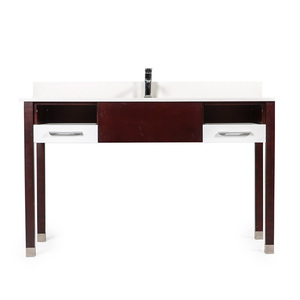 Cheap Corner Double American hotel vanity custom bathroom vanities