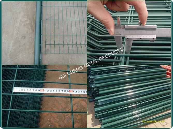 Guangzhou Factory Folding Garden Fence Paneleuro Garden Fence