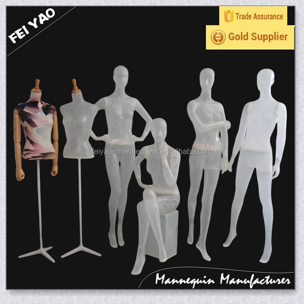 FRP Stand Female Mannequin on hot sale