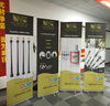 Wholesale advertising pull up banner/roll up vinyl retractable banner/Advertising banner stand