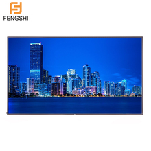 Grootste formaat 86 zoll 2500nit 4 k uhd lcd wandmontage touch screen kiosk
