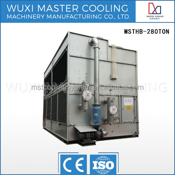 125 Ton Closed Circuit Cross Flow MSTHB-125 Not Opened Square Liquid Cooling Tower Water Machine
