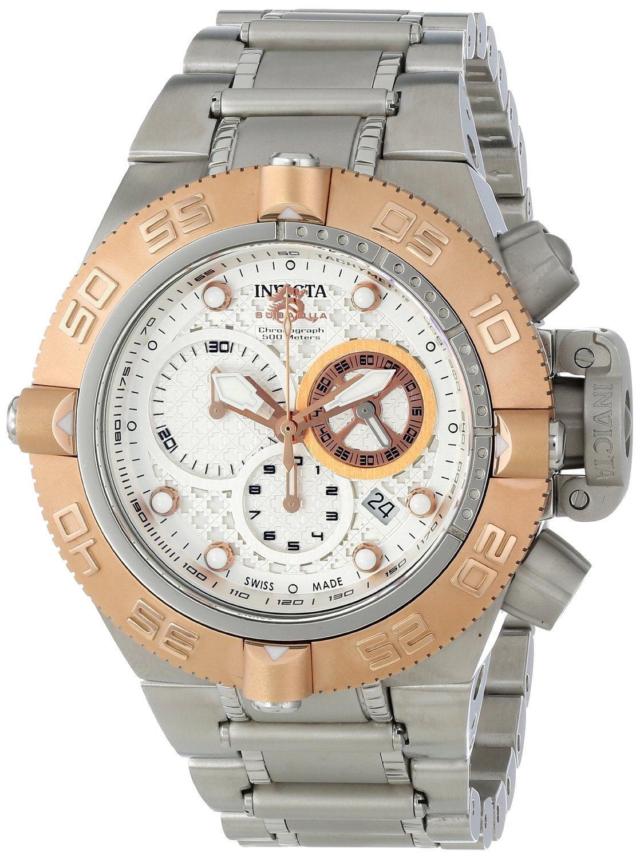Invicta Men's 11344 Subaqua Analog Display Swiss Quartz Silver Watch