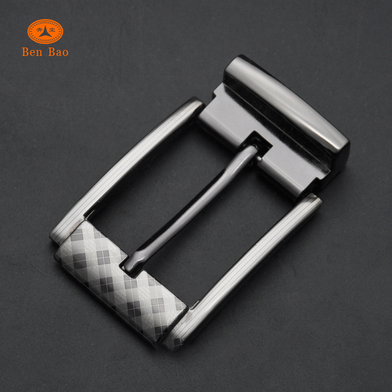 China supplier online men's belt buckle manufacturer wholesale alloy pin buckle with clip cinturones con hebilla