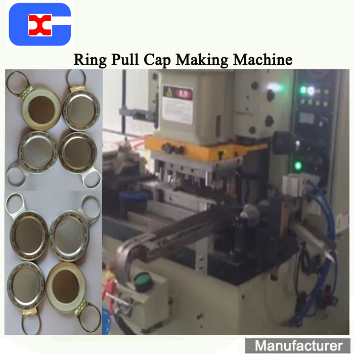 Hot Koop Ring Pull Cap Maken Lijn, Pull Ring Cap Machine, Pull Ring Cap Lijn