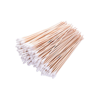 Best Price Laboratory Micro Tissue Medical Grade Sterile cotton swabs tipped applicator