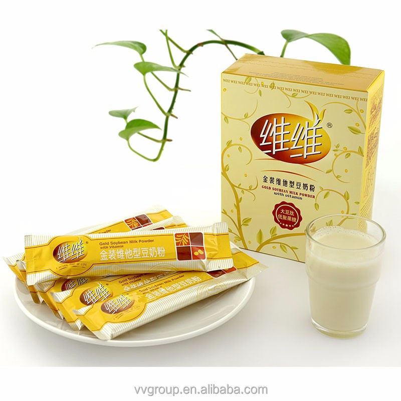 Natural Nutritious Healthy Organic Instant Gold Soybean Milk Powder with Vitamin