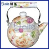 2.2L Beautiful and practical enamel tea kettle