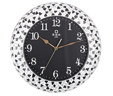 Simple wall clock / Mute watches bedroom / living room wall clock quartz pocket watch round clock Alice