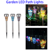 Wholesale Mosaic Solar LED Street Garden Light Decor Stake Yard Outdoor Landscape Lamp
