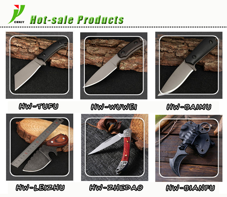 2019 Multi-funktionale Huhn Flügel Holz Griff Klapp Messer