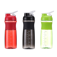 750ml Leak Proof BPA Free Portable Protein Sport Shaker Bottles with Your Own Logo Design