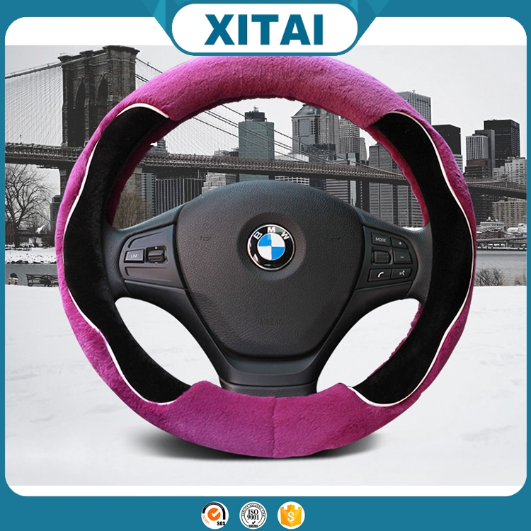 Hot sale Xitai car interior accessories popular swift car auto steering wheel covers art.-no. 23