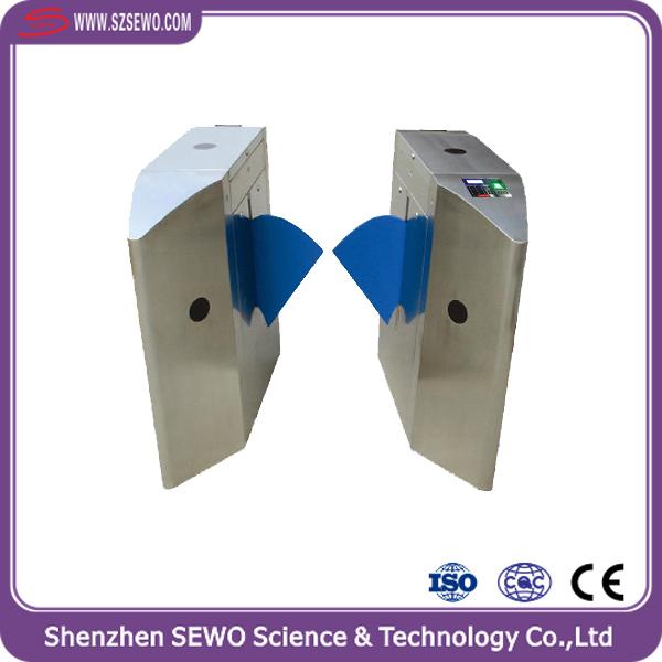 Door Access Control AC220 60HZ Semi Automatic Turnstile Flap Barrier & automatic door barriers-Source quality automatic door barriers ... Pezcame.Com