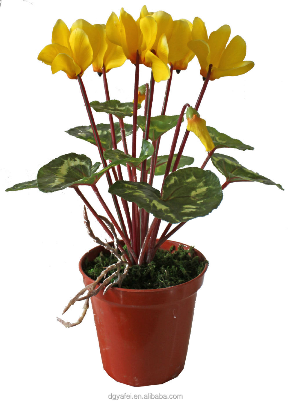The real touch cheap artificial potted flowers and plants for Cheap garden plants