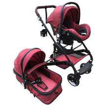Multi-function high quality aluminum EVA and rubber stroller baby with travel system
