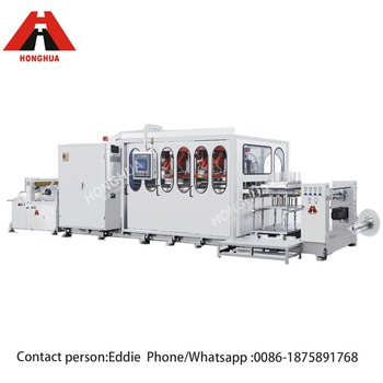 Plastic Thermoforming Machine Automatic Line