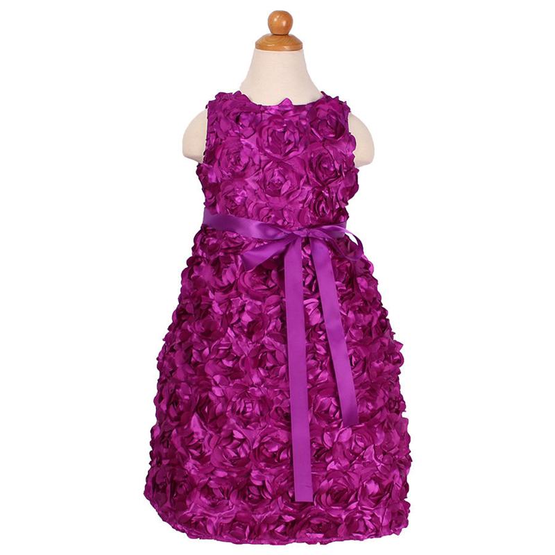 Pequeño/grande niñas encaje princesa vestidos de partido elegante ...