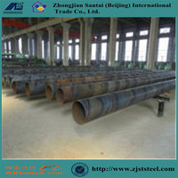 API 5L PSL1 2 ssaw large diameter sprial weld carbon steel pipe