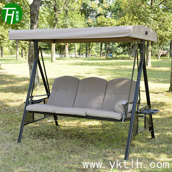 Outdoor Furniture 3seat Garden Swing With Roof Part 67