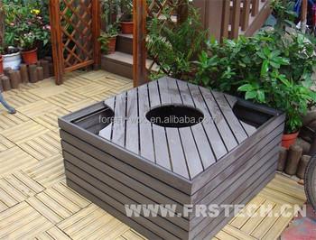 Superbe 1060x1040x600mm Frstech Composite Wood Wpc Plastic Flower Pot Wooden  Furniture Living Room Furniture Hotel Furniture