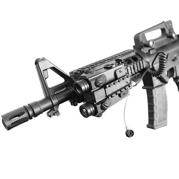 Tactical Shooting Gun Weapon Ar15 Green Laser Flashlight Combo