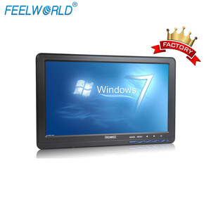 FEELWORLD 10.1 inch Capacitive Touch Screen LCD computer monitor with hdmi vga inputs