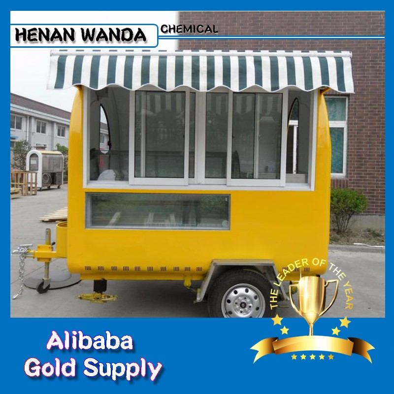 mobile fast food vending carts/street carriage restaurant/ Mobile Kiosk catering trailers