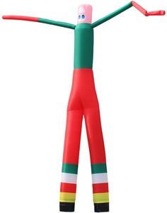 Manufacturer Inflatable Air Dancer Fabric with Two Long Legs