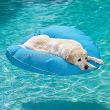 Inflatable dog lounge pool float