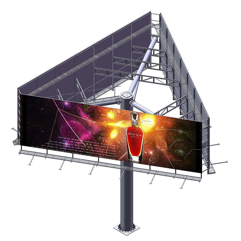 product-YEROO-YEROO Manufactured Lightbox Scrolling Billboard Outdoor Advertising-img-5