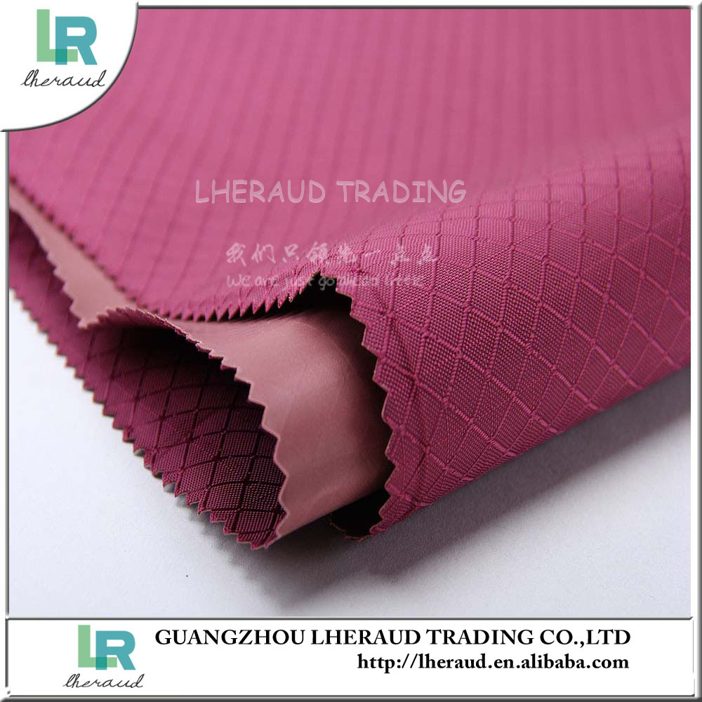 100% polyester PVC coated grid heavy oxford fabric