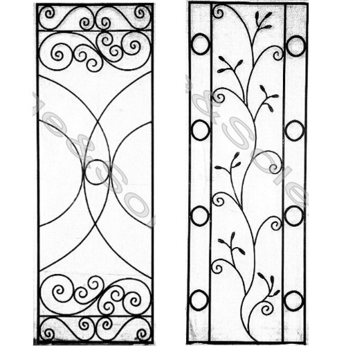 Beau Garden Wrought Iron Wall Trellis