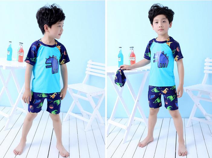 Costumi Da Bagno Per Bambini : Piccolo dinosauro costumi da bagno ragazzo 3 pezzi costume da bagno