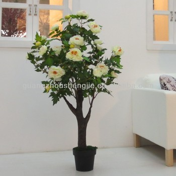 sleek realistic artificial indoor plant white flower artificial Artificial Indoor Flowers
