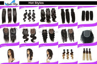 Sew In Quick Hair Weave With Cap - Buy Lace Front Closure Hair ...