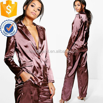 Satin Blaser Sleepwear Nightwear Women Apparel Wholesaler China Alibaba 06504cf51