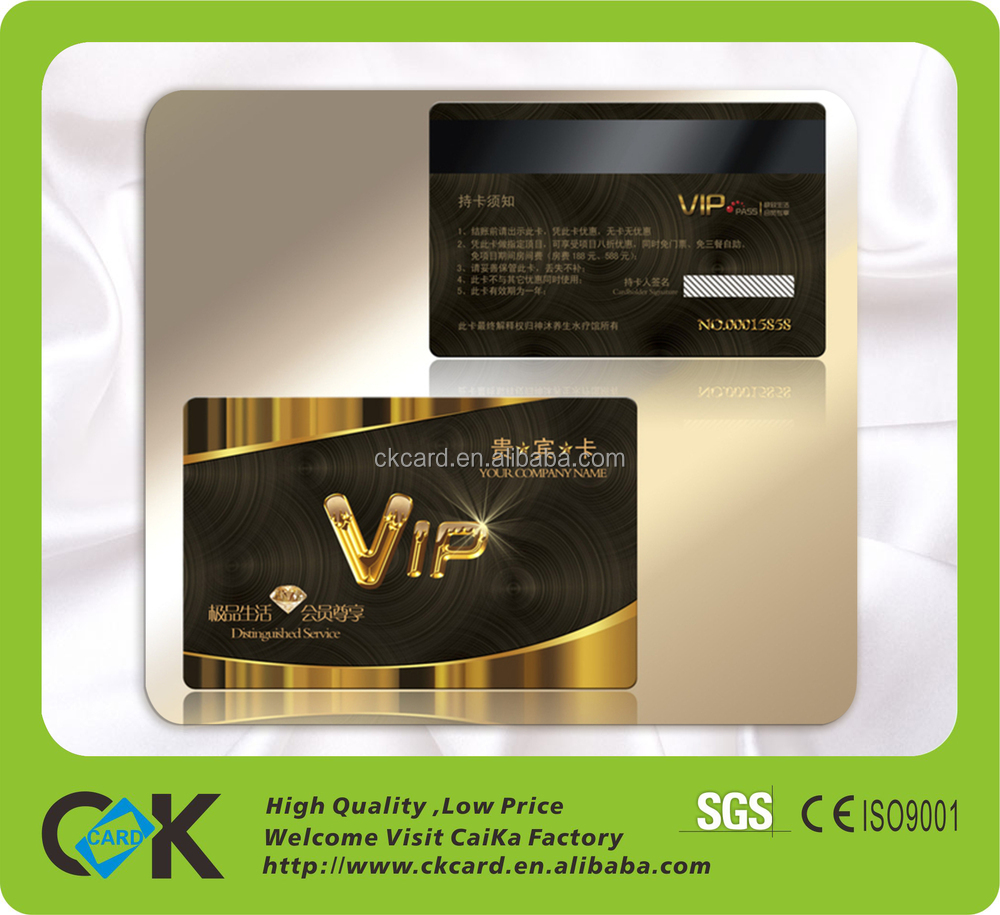 Customized Design Cr 80 Size Gym Membership Card From China – Membership Cards Design