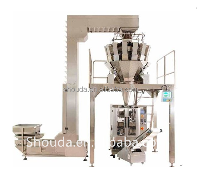 Hot sale Automatic Weigher 10 Head Potato Chips Weighing Machine