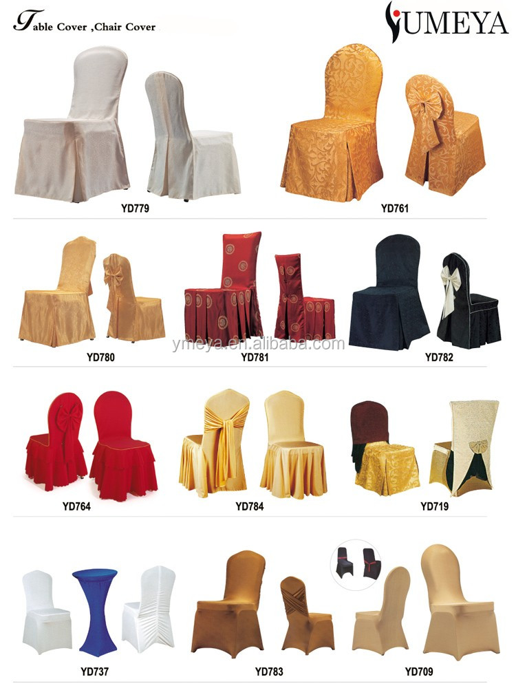 Hot Sale Cheap Popular Universal Wedding Chair Covers Spandex ...