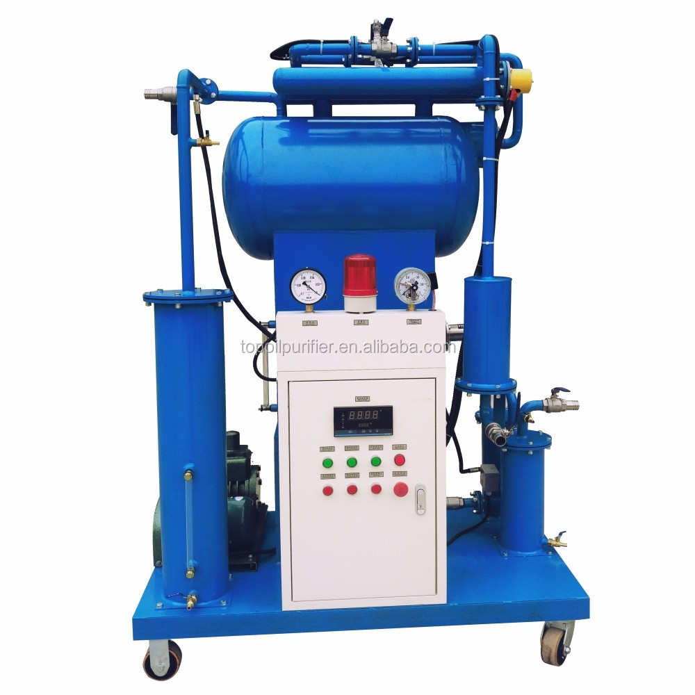 ZY-A PLC control full automatic vacuum transformer oil purification machine