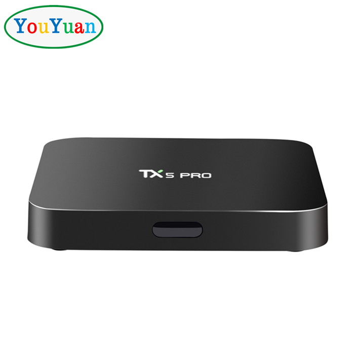 TX5 PRO S905X Quad Core Support Wifi Ture 4K Playing with Wireless Mini Touchpad Keyboard 2G/16G
