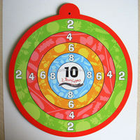 The high quality low price fun game magnetic safe dart board