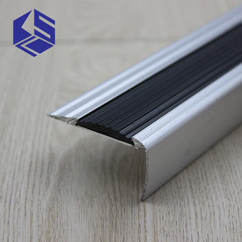 Stair Protector Tile Strip Stair Nose Aluminum Metal Step Edge Trim