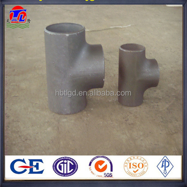 reducing tee/ elbow / reducer/ cap/flange/ pipe/tube/pipe fittings made in China