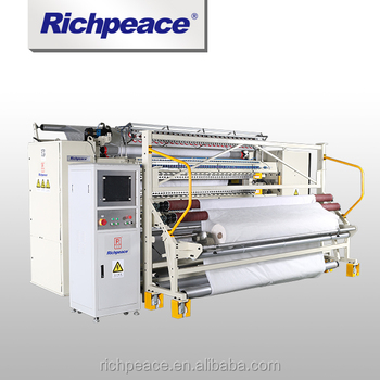 Richpeace Computerized high speed Multi-needle Rotary Hook Quilting Machine