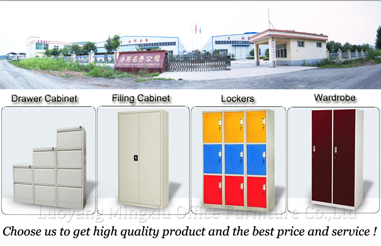 Lightweight Fireproof Metal Filing Cabinets 3 Drawer Storage Locker With  Wheels