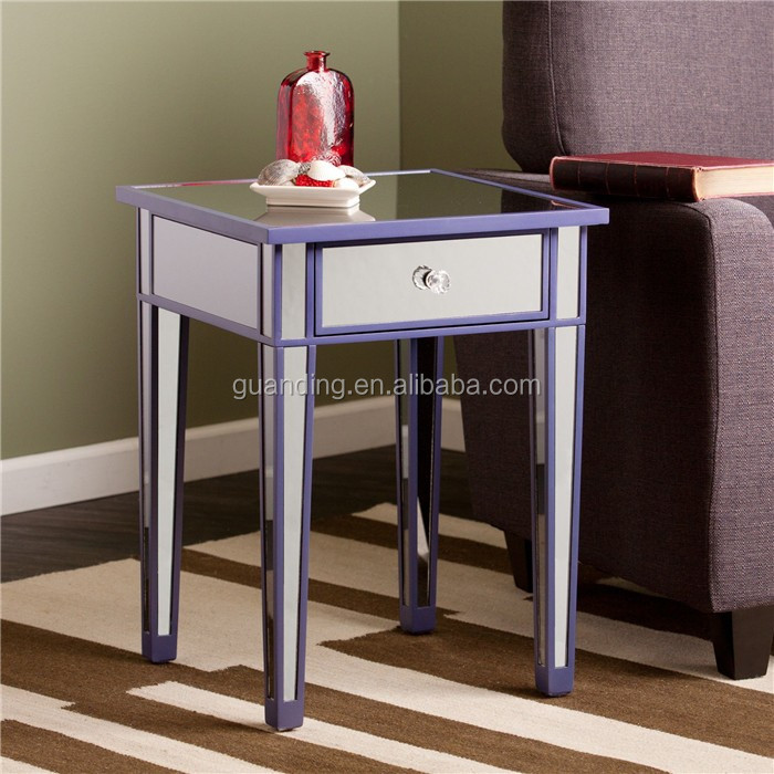 cheap mirrored end table side table for sale buy side end table side table mirrored end table. Black Bedroom Furniture Sets. Home Design Ideas