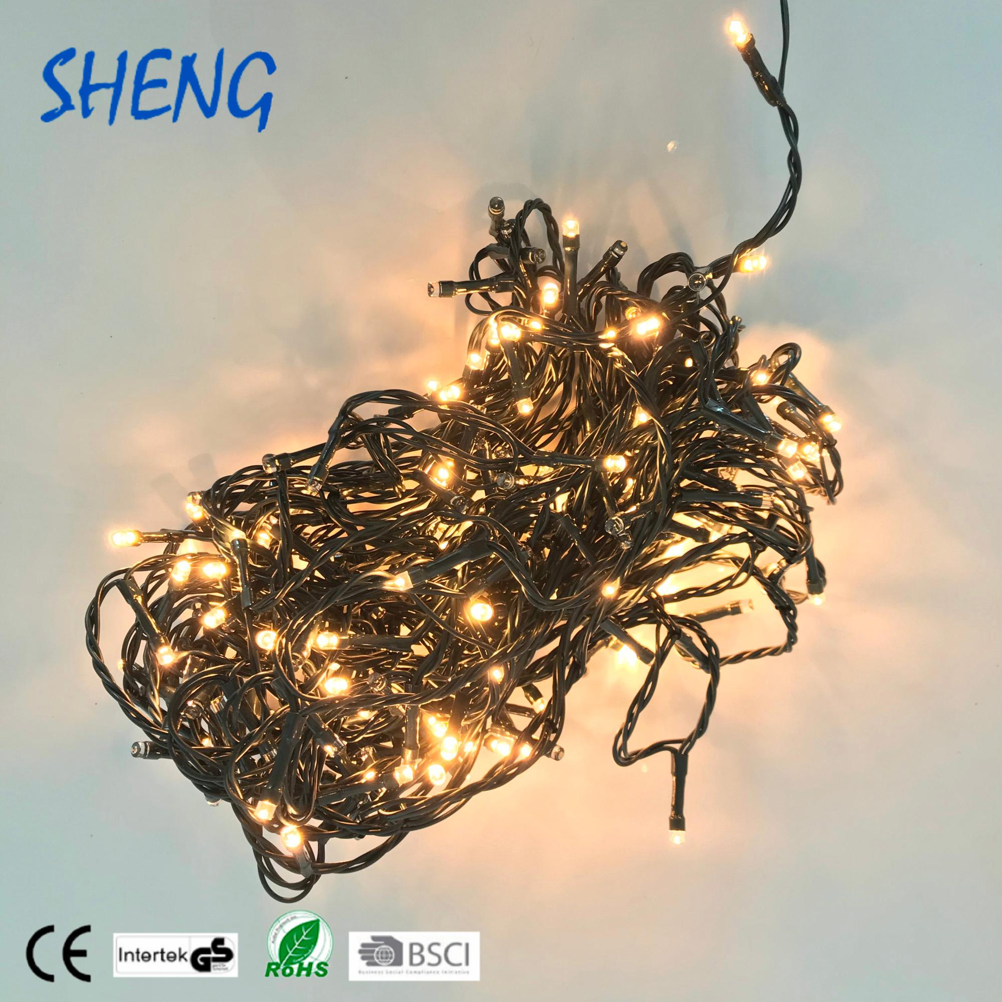most popular400 leds micro mini waterproof outdoor decoration light chain