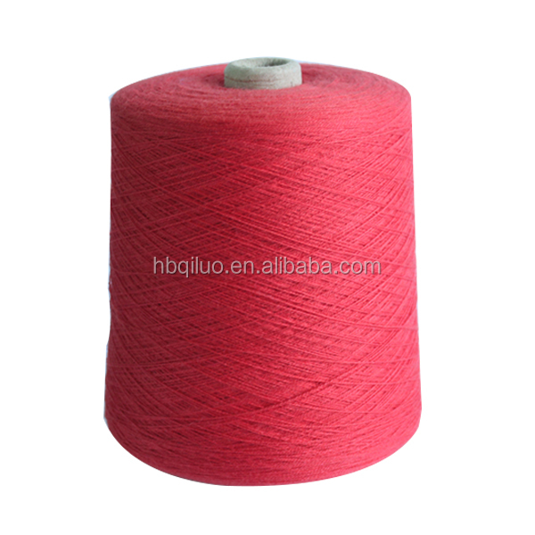 Russia Importers Buy Top quality cheap selling colorful dyeing acrylic yarn 2 32 for weaving and knitting